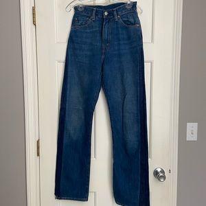 1950's LEVI'S 701 Vintage Jeans sz26 Like New!